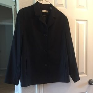 Amanda Smith pure wool black blazer 16